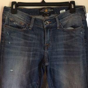 EUC Lucky Brand Zoe Skinny jeans size 8 / 29